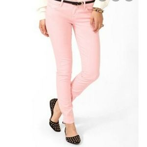 Life In Progress Pink Skinny Jeans